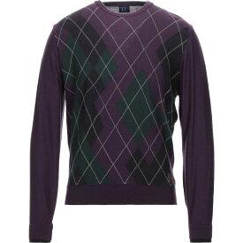 トラサルディ TRUSSARDI JEANS メンズ ニット・セーター トップス【sweater】Deep purple