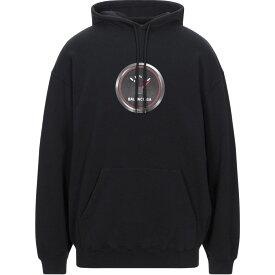 バレンシアガ BALENCIAGA メンズ パーカー トップス【hooded sweatshirt】Black