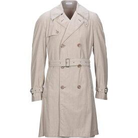 ボリオリ BOGLIOLI メンズ トレンチコート アウター【full-length jacket】Dove grey