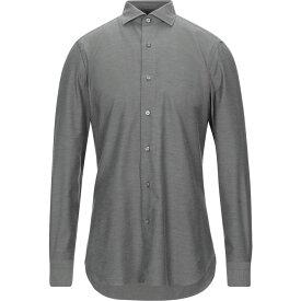 ボリオリ BOGLIOLI メンズ シャツ トップス【solid color shirt】Military green