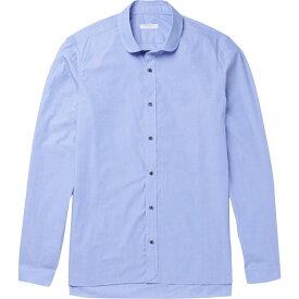 ボリオリ BOGLIOLI メンズ シャツ トップス【solid color shirt】Azure