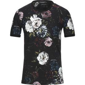 ドルチェ&ガッバーナ DOLCE & GABBANA メンズ Tシャツ トップス【T-Shirt】Black