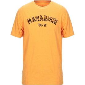 マハリシ MAHARISHI メンズ Tシャツ トップス【t-shirt】Orange