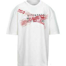 メゾン マルジェラ MAISON MARGIELA メンズ Tシャツ トップス【t-shirt】White