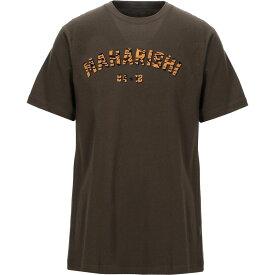 マハリシ MAHARISHI メンズ Tシャツ トップス【t-shirt】Military green