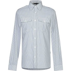 アクアスキュータム AQUASCUTUM メンズ シャツ トップス【striped shirt】White