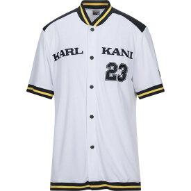 カール カナイ KARL KANI メンズ スウェット・トレーナー トップス【sweatshirt】White