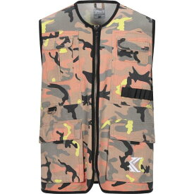 カール カナイ KARL KANI メンズ ベスト・ジレ トップス【suit vest】Orange