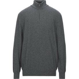 サルヴァトーレ フェラガモ SALVATORE FERRAGAMO メンズ ニット・セーター トップス【cashmere blend】Grey