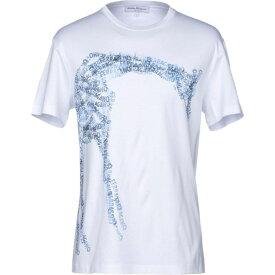 サルヴァトーレ フェラガモ SALVATORE FERRAGAMO メンズ Tシャツ トップス【t-shirt】White