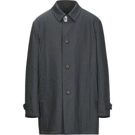 サルヴァトーレ フェラガモ SALVATORE FERRAGAMO メンズ コート アウター【full-length jacket】Dark blue