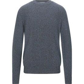 サルヴァトーレ フェラガモ SALVATORE FERRAGAMO メンズ ニット・セーター トップス【cashmere blend】Slate blue
