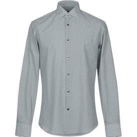 サルヴァトーレ フェラガモ SALVATORE FERRAGAMO メンズ シャツ トップス【patterned shirt】Dark blue