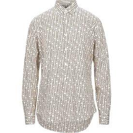 サルヴァトーレ フェラガモ SALVATORE FERRAGAMO メンズ シャツ トップス【patterned shirt】Beige