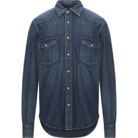 セリーヌ CELINE メンズ シャツ デニム トップス【denim shirt】Blue