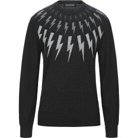 ニール バレット NEIL BARRETT メンズ ニット・セーター トップス【sweater】Black