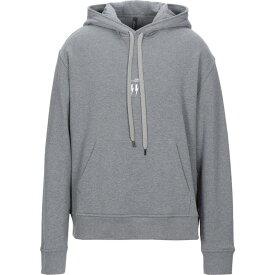 ニール バレット NEIL BARRETT メンズ パーカー トップス【hooded sweatshirt】Grey