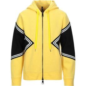 ニール バレット NEIL BARRETT メンズ パーカー トップス【hooded sweatshirt】Yellow