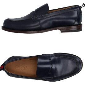 グッチ GUCCI メンズ ローファー シューズ・靴【loafers】Slate blue