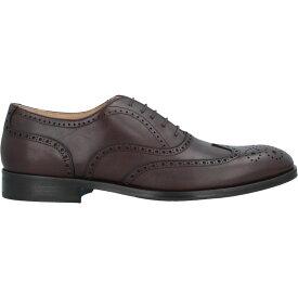 ストールマンテラッシ SUTOR MANTELLASSI メンズ シューズ・靴 【laced shoes】Dark brown