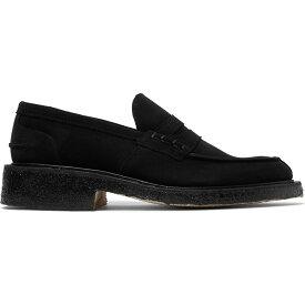トリッカーズ TRICKER'S メンズ ローファー シューズ・靴【Loafers】Black