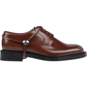 ランバン LANVIN メンズ シューズ・靴 【Laced Shoes】Brown