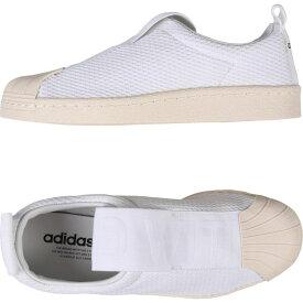 アディダス ADIDAS ORIGINALS レディース スリッポン・フラット シューズ・靴【Superstar Bw35 Slipo】White