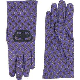 バレンシアガ BALENCIAGA レディース 手袋・グローブ 【Glove】Purple
