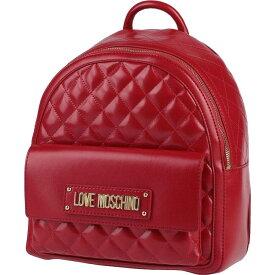 モスキーノ LOVE MOSCHINO レディース バッグ 【backpack & fanny pack】Red
