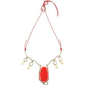 マルニ MARNI レディース ネックレス ジュエリー・アクセサリー【necklace】Red