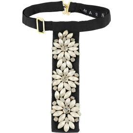 マルニ MARNI レディース ネックレス ジュエリー・アクセサリー【necklace】Black