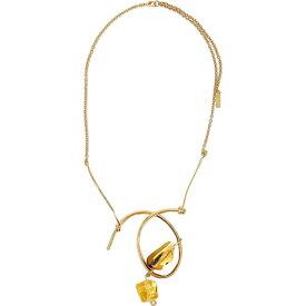 マルニ MARNI レディース ネックレス ジュエリー・アクセサリー【necklace】Gold