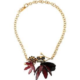 マルニ MARNI レディース ネックレス ジュエリー・アクセサリー【necklace】Maroon