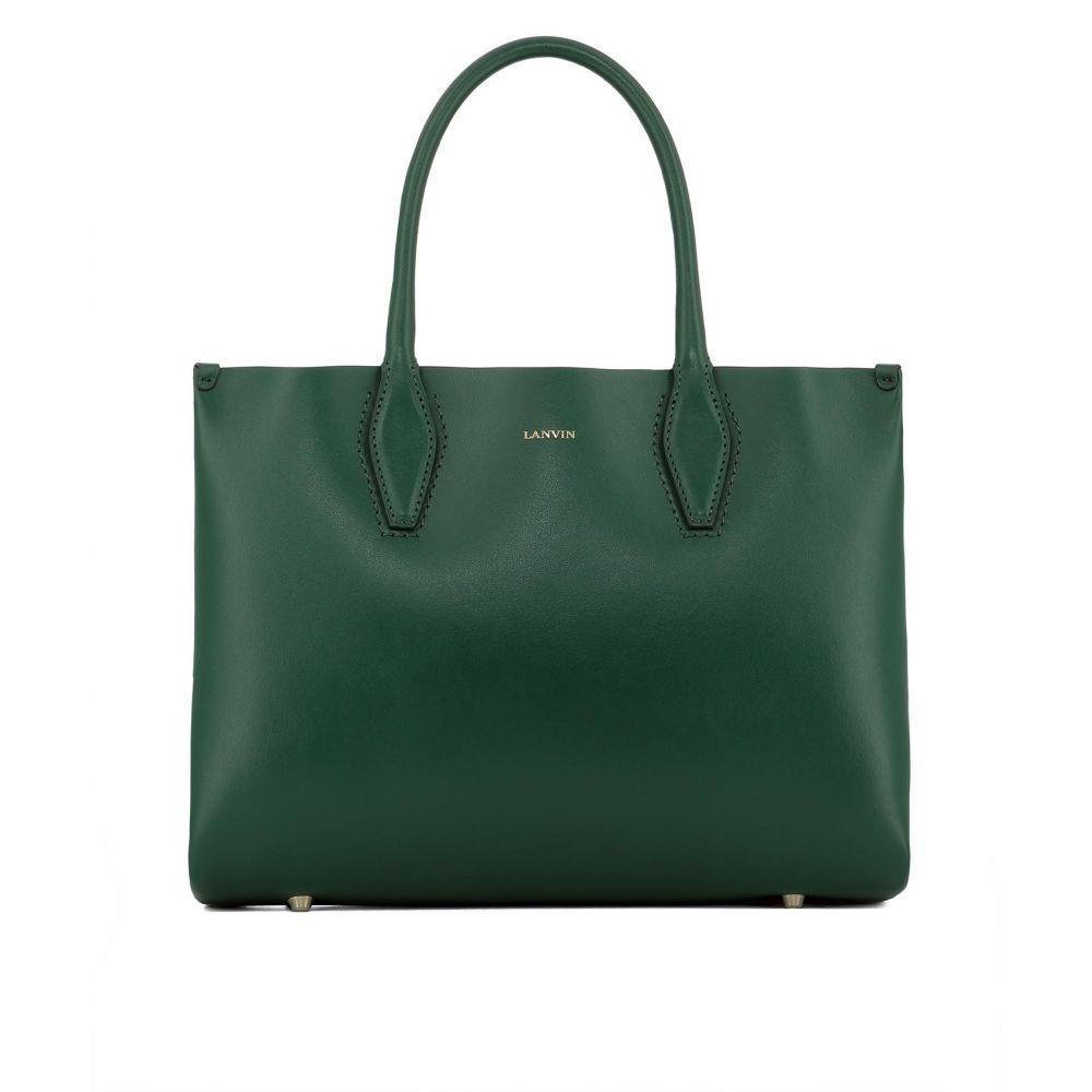 """ランバン Lanvin レディース バッグ ハンドバッグ【""""Journ"""" handle bag】Green"""