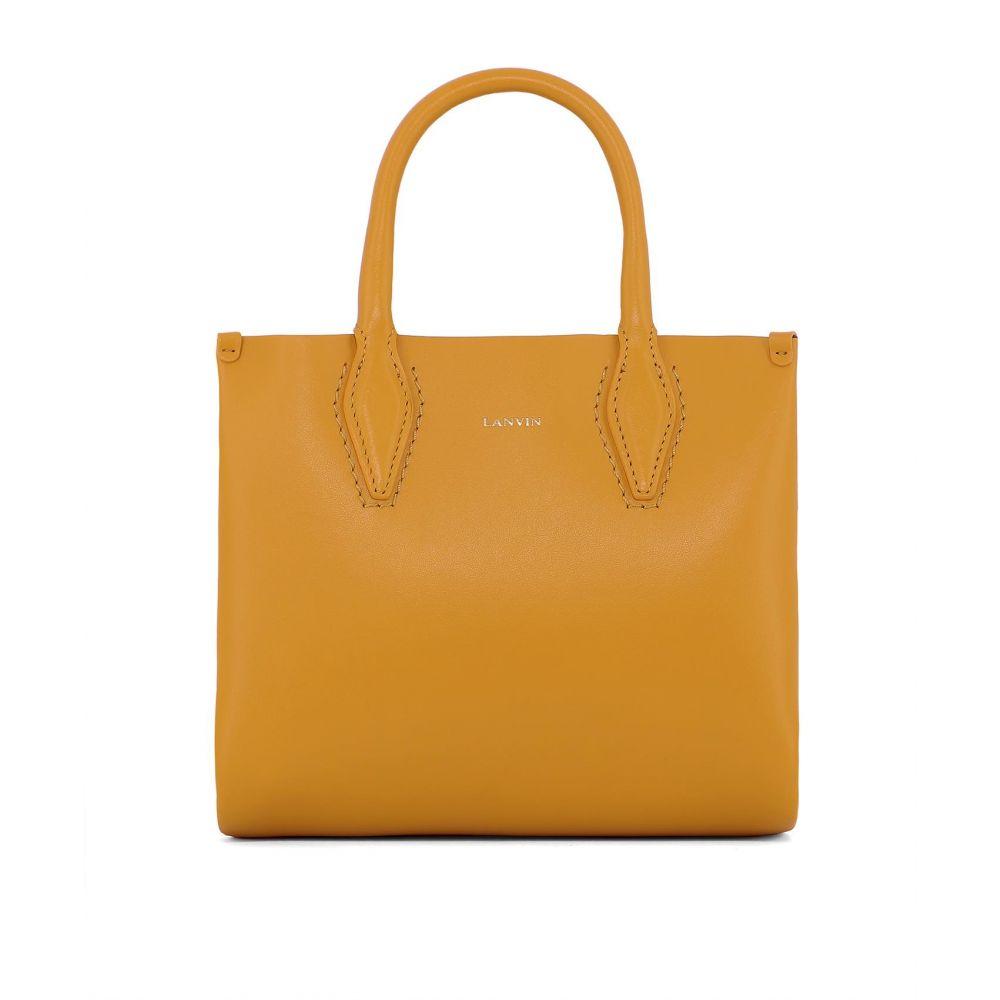 """ランバン Lanvin レディース バッグ ハンドバッグ【""""Journ"""" handle bag】Yellow"""