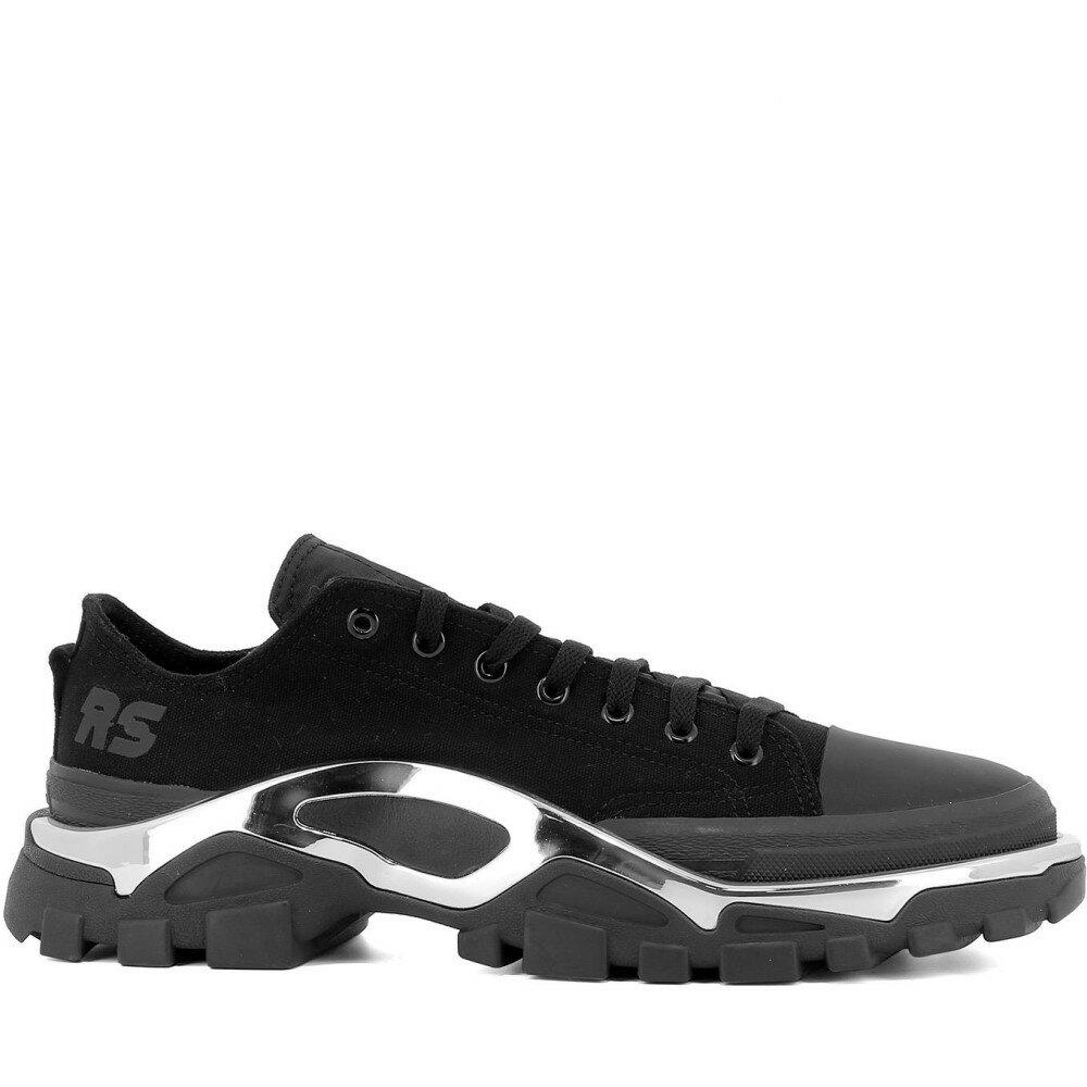 """アディダス Adidas X Raf Simons メンズ シューズ・靴 スニーカー【""""RS Detroit Runner"""" sneakers】Black"""