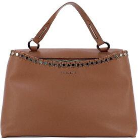 """オルチアーニ Orciani レディース バッグ ハンドバッグ【""""Lotus"""" handle bag】Brown"""