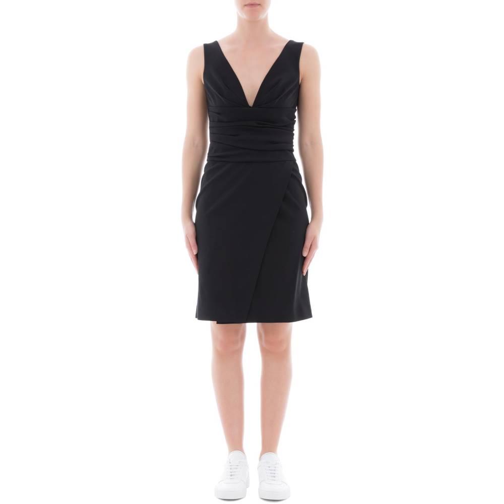 ディースクエアード レディース ワンピース・ドレス ワンピース【Black fabric dress】Black