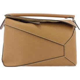 """ロエベ Loewe メンズ ハンドバッグ バッグ【""""Puzzle Edge Large Bag"""" Handbag】Beige"""