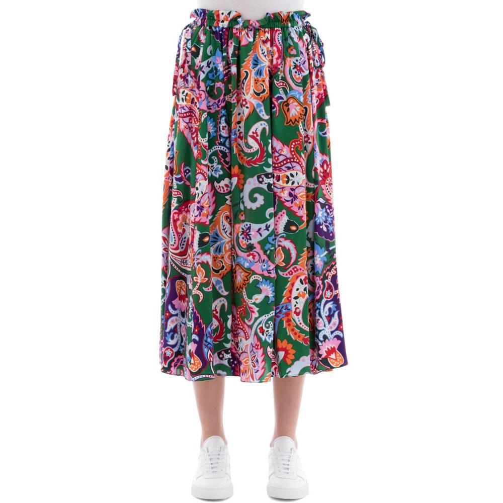 ケンゾー レディース スカート【Multicolor silk skirt】Multicolor
