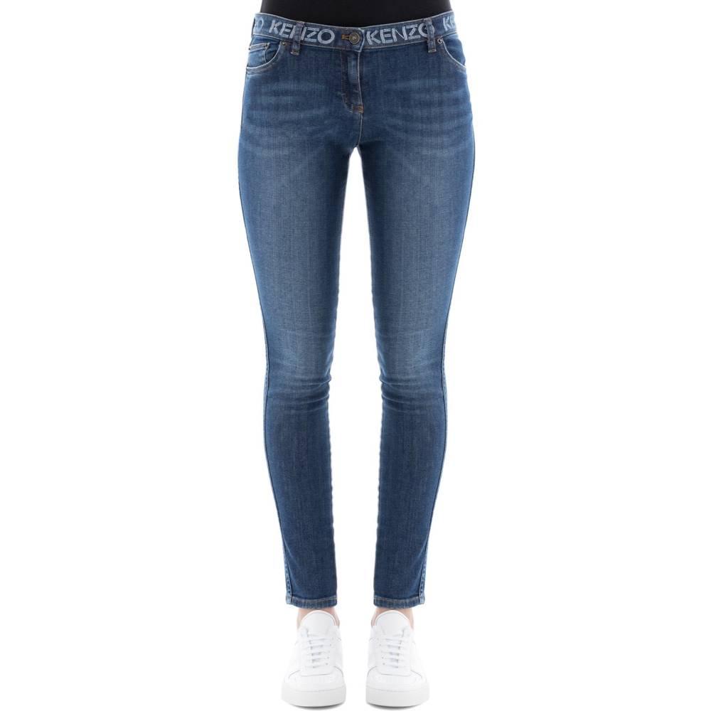 ケンゾー レディース ボトムス・パンツ ジーンズ・デニム【Blue cotton jeans】Blue