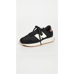 ニューバランス New Balance レディース スニーカー レースアップ シューズ・靴【237 Lace Up Sneakers】Black/Washed Henna
