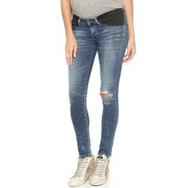シチズンズ オブ ヒューマニティ Citizens of Humanity レディース ボトムス スキニー【Racer Ultra Maternity Skinny Jeans】Distressed Weekend