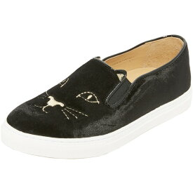 シャーロットオリンピア Charlotte Olympia レディース シューズ・靴 スニーカー【Cool Cats Sneakers】Black