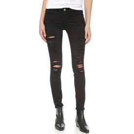 フレーム FRAME レディース ボトムス・パンツ スキニー【Le Color Rip Skinny Jeans】Film Noir