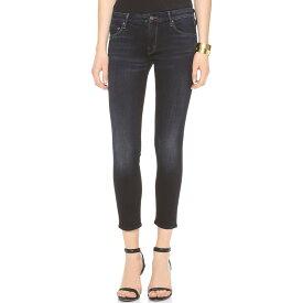 マザー MOTHER レディース ボトムス スキニー【The Cropped Looker Skinny Jeans】Coffee Tea or Me