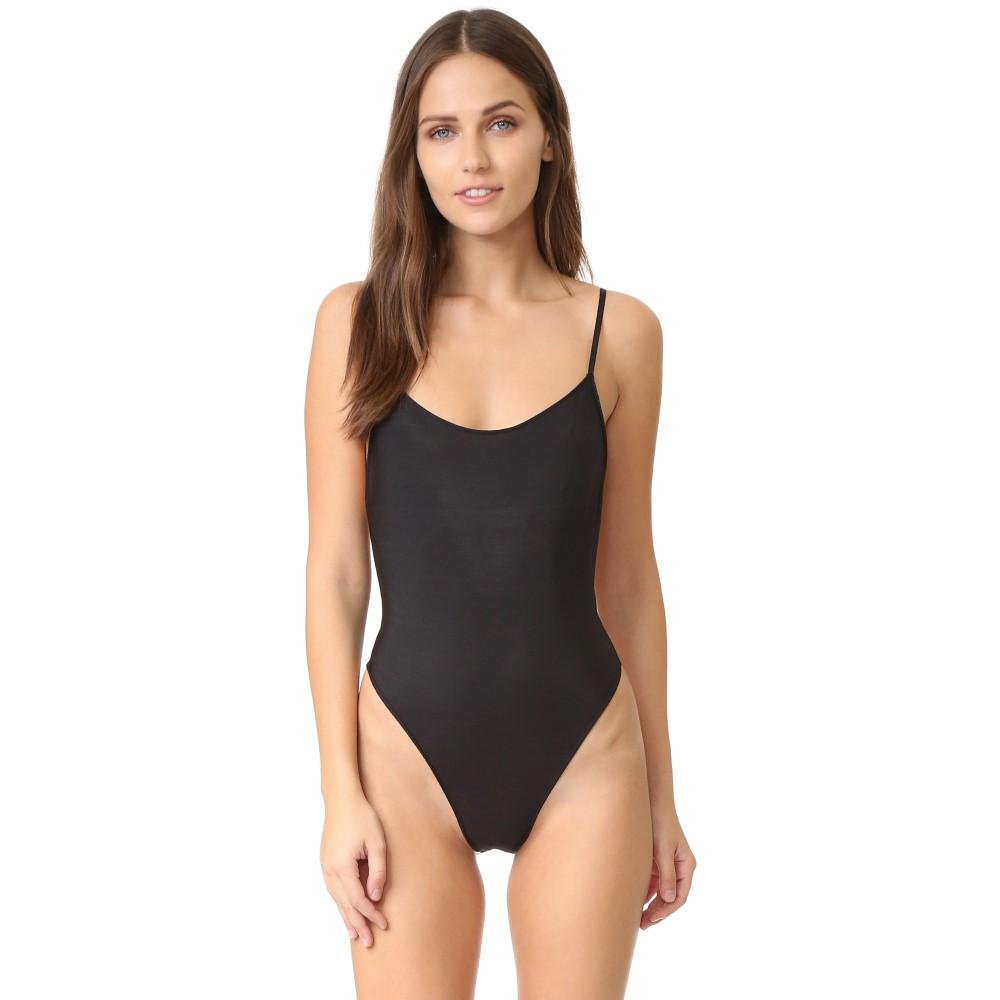 オンリーハーツ Only Hearts レディース インナー ボディースーツ【Second Skins Bodysuit】Black
