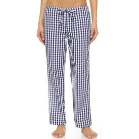 スリーピージョーンズ Sleepy Jones レディース インナー パジャマ・ボトムのみ【Gingham Marina Pajama Pants】Navy