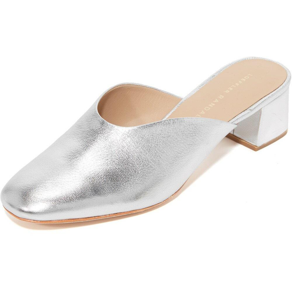 ロフラーランダル Loeffler Randall レディース シューズ・靴 パンプス【Lulu Mules】Silver