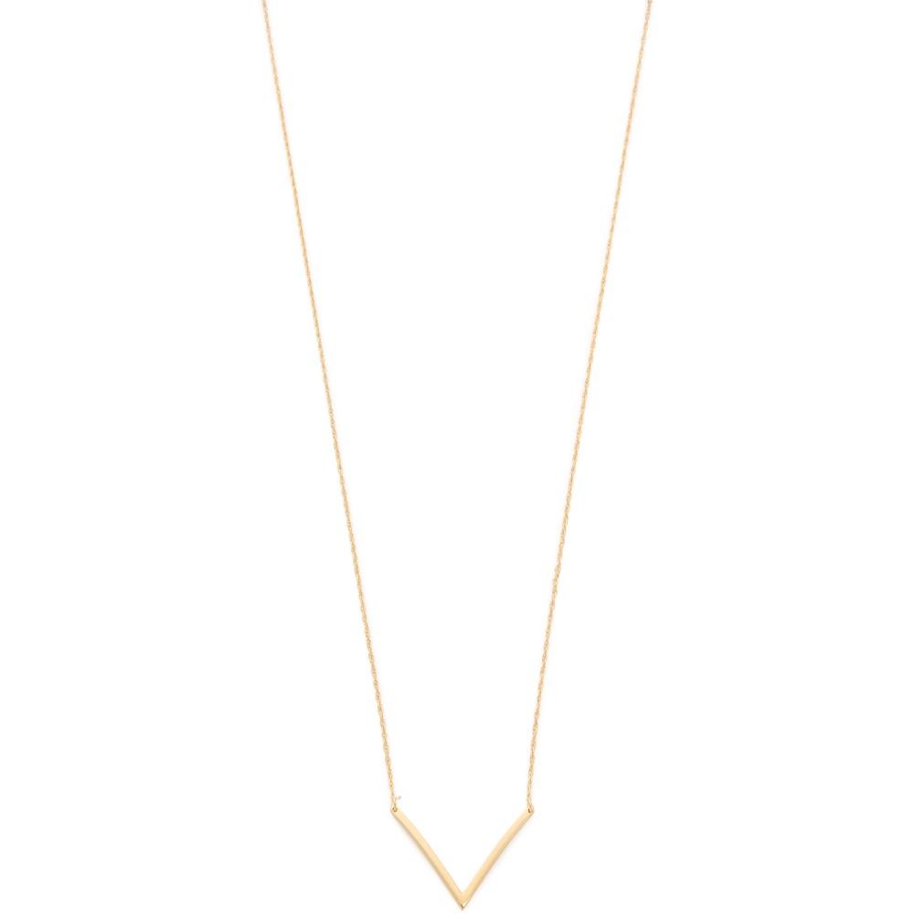 ジェニファーズーナー Jennifer Zeuner Jewelry レディース アクセサリー ネックレス【Bianca Small Necklace】Gold